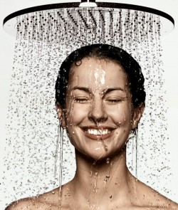 Douche une