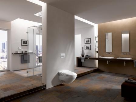wc lavant ultra moderne. Black Bedroom Furniture Sets. Home Design Ideas