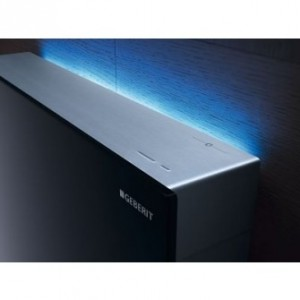 Meuble WC geberit monolith plus light blue