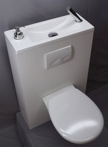 WC-suspendu-gain-de-place-avec-lave-main